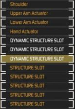 Dynamic Structure Slots