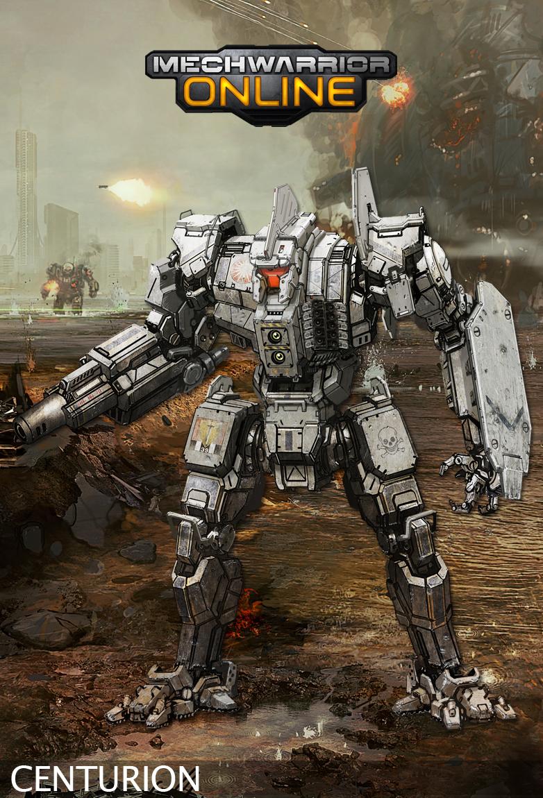 Mwo Centurion D New Tech Builds